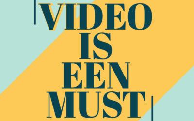 Waarom een video onderdeel moet zijn van je videomarketing?